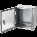 Stainless steel metal box